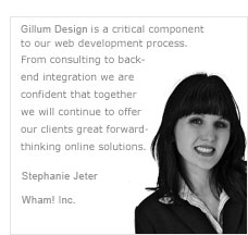 Use Gillum Design for your overflow needs